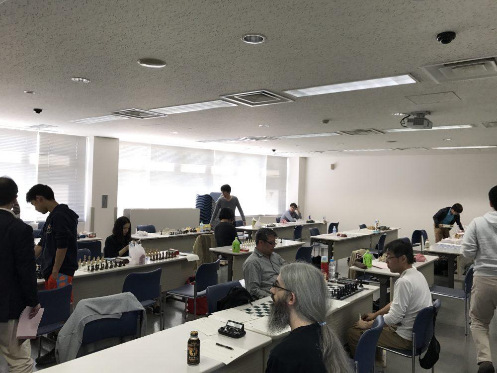 全日本チェス選手権全国大会2日目