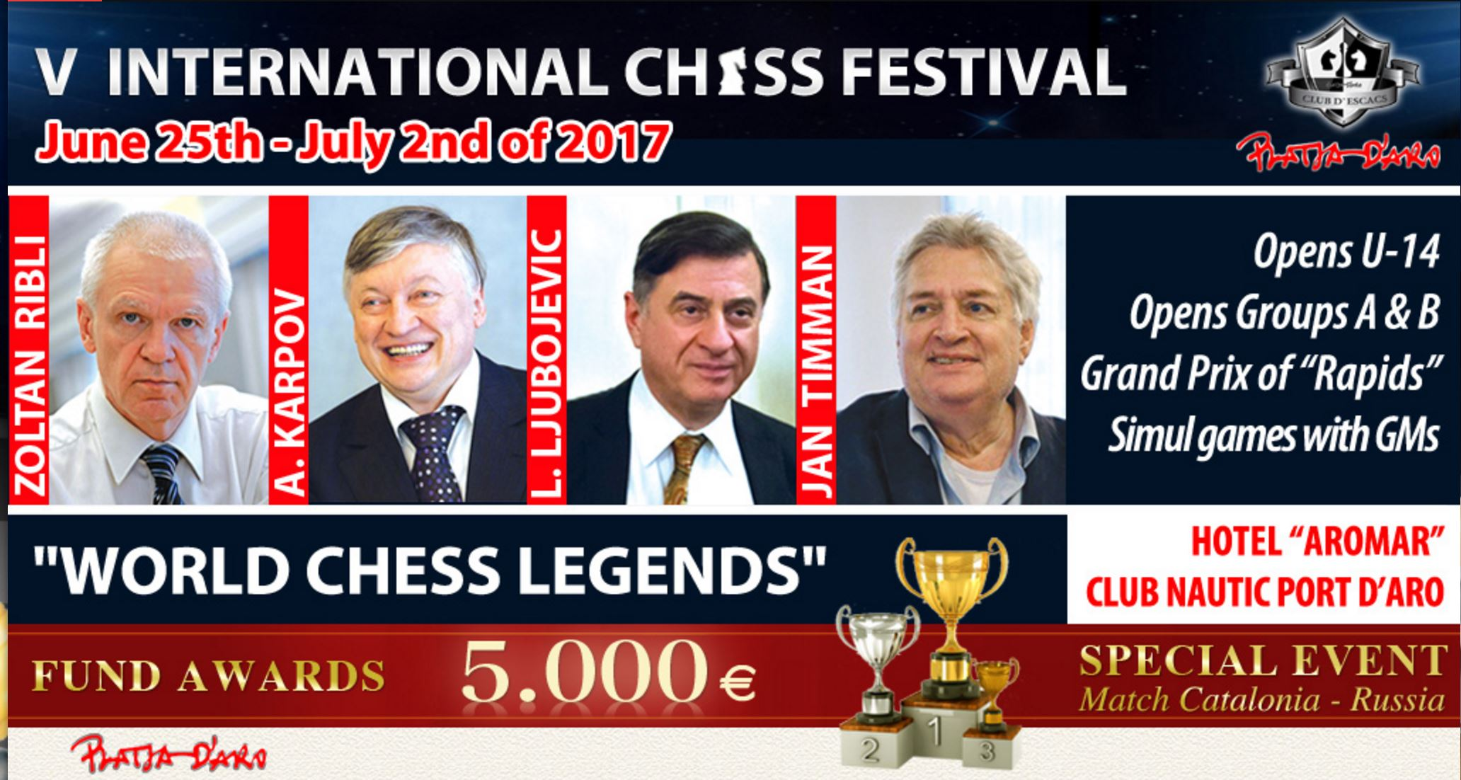 World Chess Legends 2017