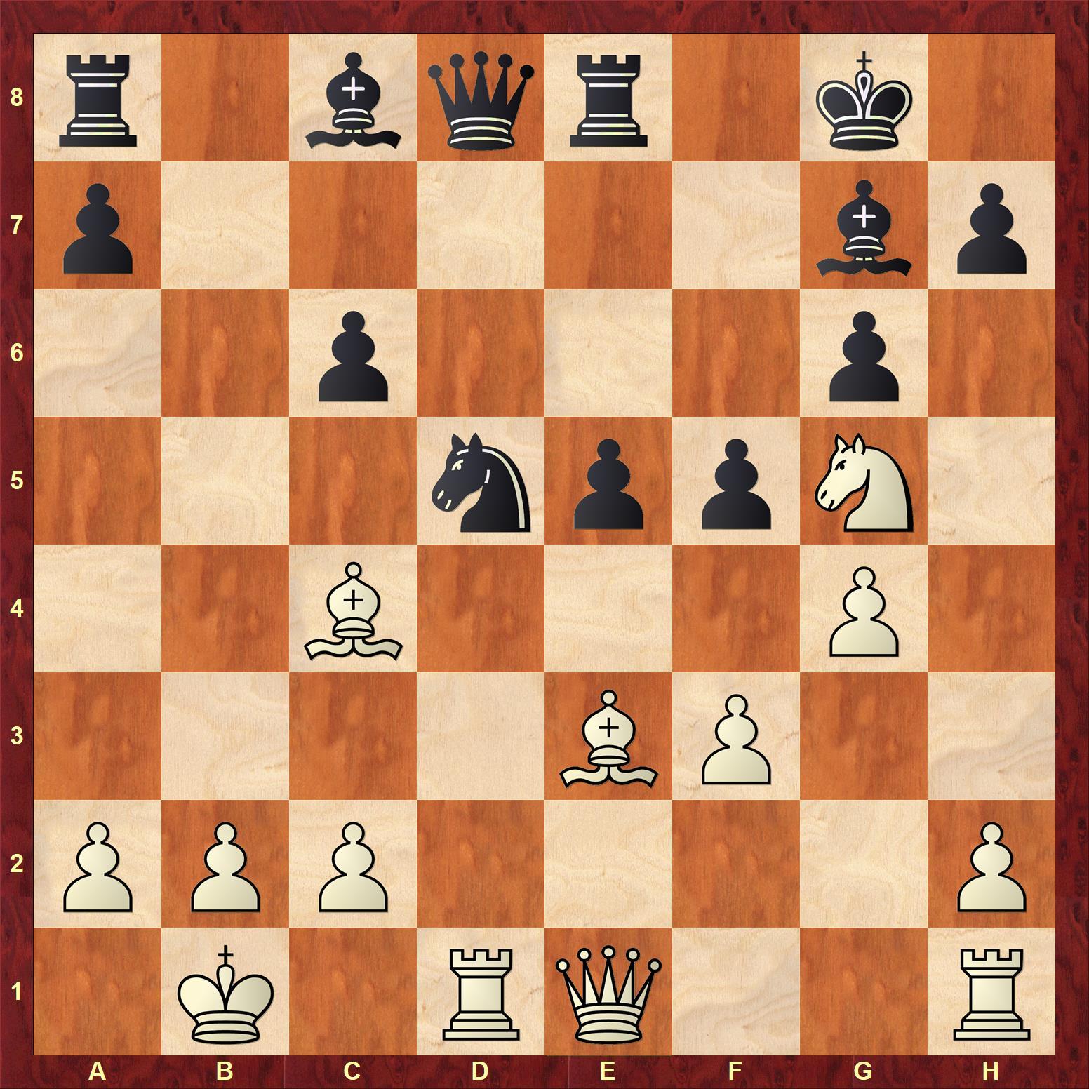 Carlsenはピースダウンしてもなお強し