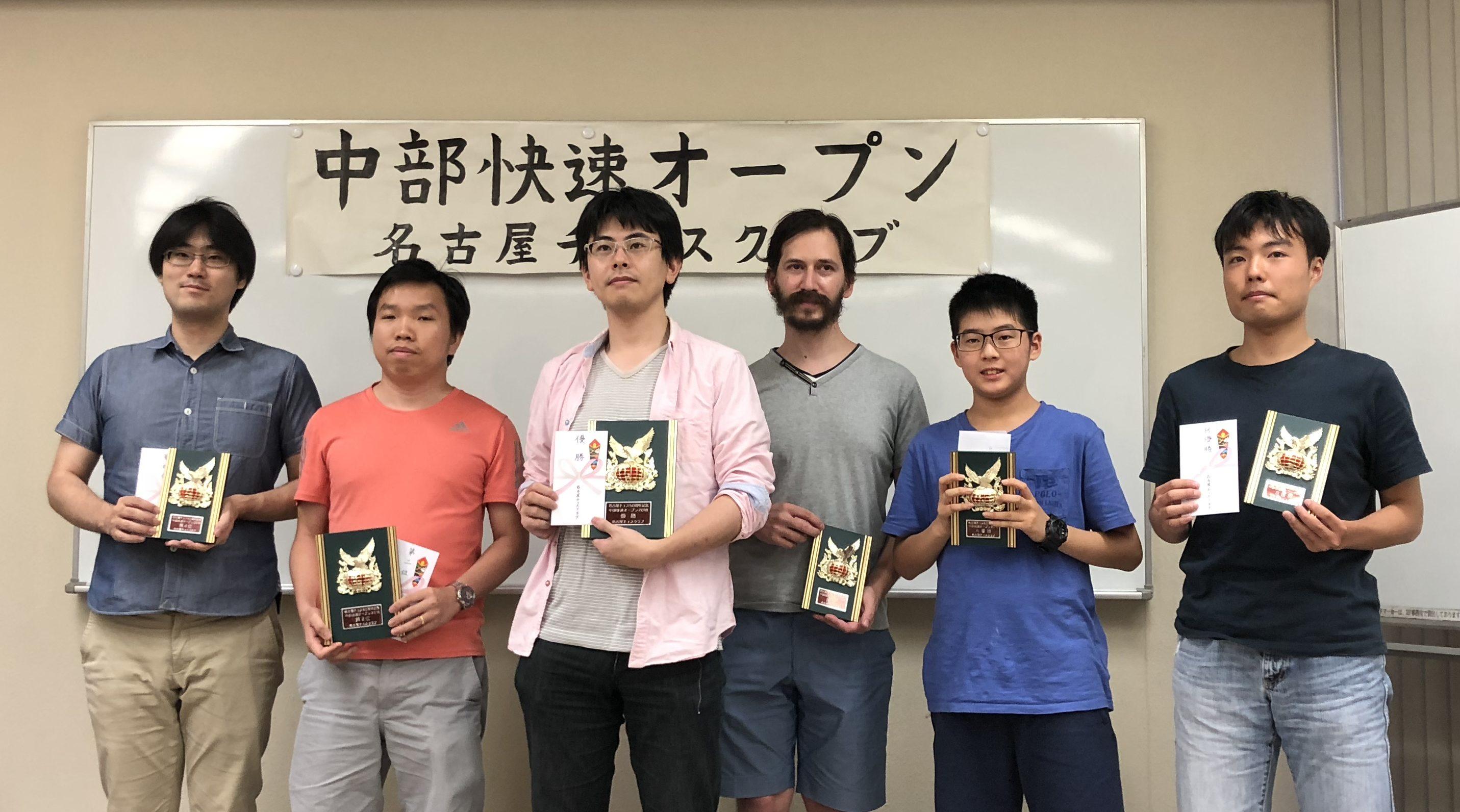 2019全日本チェス選手権全国大会 6日目最終日